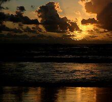 Sunrise at Casuarina 1 by Jen  Hutchison