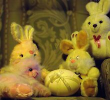 Ready for Teddies Easter Party by waxyfrog
