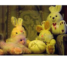 Ready for Teddies Easter Party Photographic Print