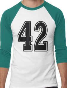 42 For Light Men's Baseball ¾ T-Shirt