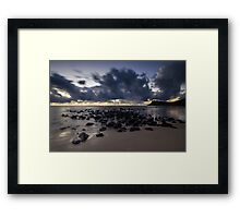 60 Seconds Before Dawn Framed Print