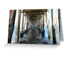 Point Lonsdale Pier - Victoria, Australia Greeting Card