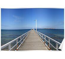 Point Lonsdale Pier - Victoria, Australia Poster