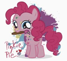 Pinkie Pie Color Splatter Baby Tee