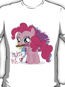Pinkie Pie Color Splatter T-Shirt