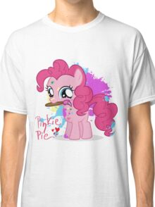 Pinkie Pie Color Splatter Classic T-Shirt