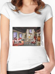 LOST IN DOLL LAND Women's Fitted Scoop T-Shirt