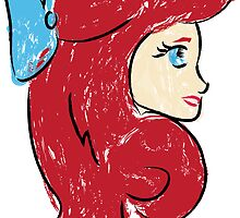 Red Haired Beauty by 3eyegraphics