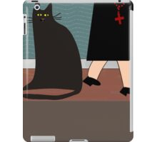 """""""The Nun and the Cat"""" iPad Case/Skin"""