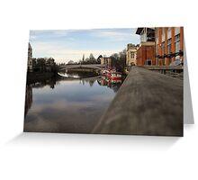 York - Lendal Bridge Greeting Card