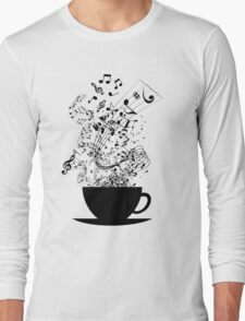 Cup of Music Long Sleeve T-Shirt