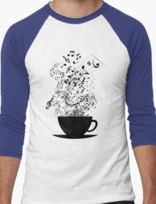 Cup of Music Men's Baseball ¾ T-Shirt