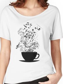 Cup of Music Women's Relaxed Fit T-Shirt