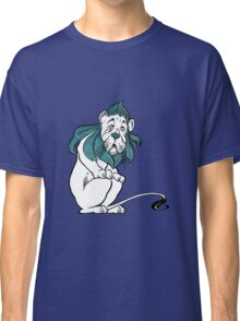 Cowardly Lion Illustration Classic T-Shirt