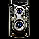 Dual Lens rolleiflex vintage camera iphone 5, iphone 4 4s, iPhone 3Gs, iPod Touch 4g case by Pointsale store.com