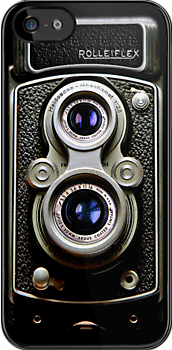 Dual Lens rolleiflex vintage camera iphone 4 4s, iPhone 3Gs, iPod Touch 4g case by www. pointsalestore.com