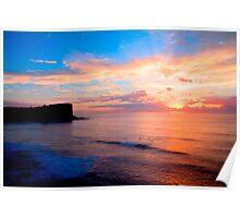 Avalon Sunrise HDR Poster
