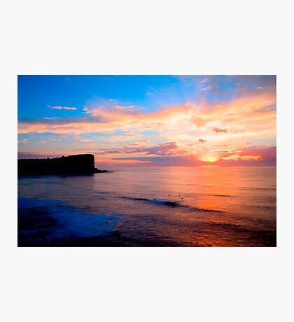 Avalon Sunrise HDR Photographic Print