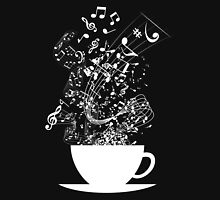 Cup of Music (White) T-Shirt