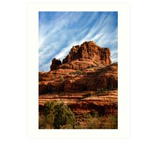 Sedona Rocks! Art Print