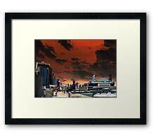 Melbourne Docklands, Australia 02 Framed Print