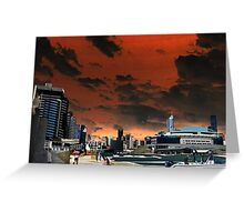 Melbourne Docklands, Australia 02 Greeting Card