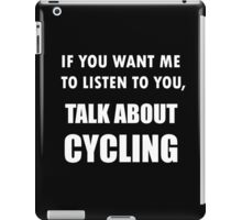 Talk About Cycling iPad Case/Skin