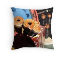 Making the Bagpipes Throw Pillow