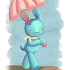 Walking on a rainy day by KasumiCR
