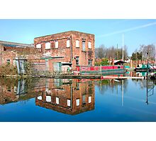 CANAL MIRROR IMAGES. 1 Photographic Print
