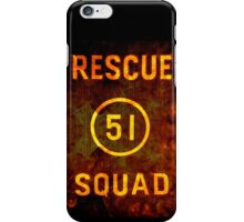 Rescue Squad 51 iPhone Case/Skin