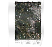 USGS Topo Map Washington State WA White Pass 20110520 TM Poster