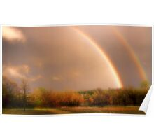 Dream Me A Rainbow Poster