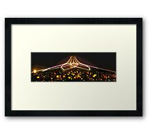 Teacups at night Framed Print