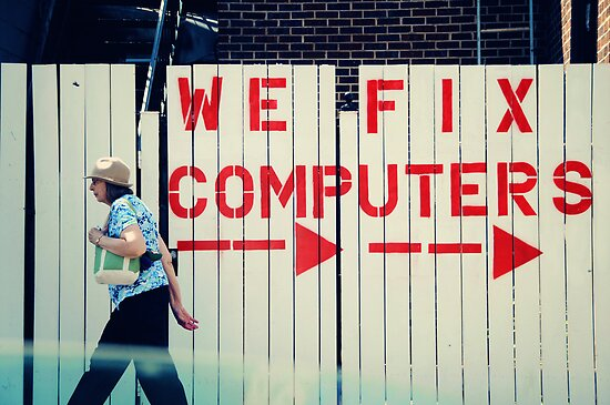 Wrigleyville Chicago - We fix computers by nickaustwick