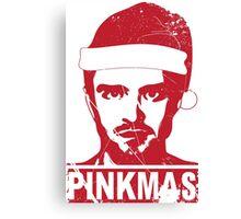 PINKMAS- PINKMAN CHRISTMAS  Canvas Print