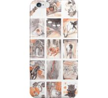 Halloween Advent Calendar iPhone Case/Skin