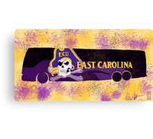ECU (c) bus Portrait Canvas Print