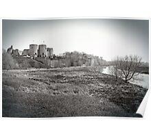 Rhuddlan Castle Poster