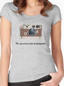 Leica Instagram camera Women's Fitted Scoop T-Shirt