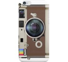 Leica Instagram camera iPhone Case/Skin