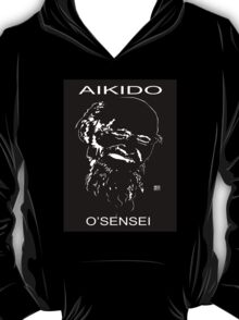 O'Sensei the founder of Aikido T-Shirt