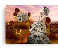 PAPERDOLL WORLD Canvas Print