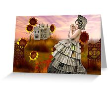 PAPERDOLL WORLD Greeting Card