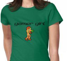 Gamer Girl - Samus Womens Fitted T-Shirt