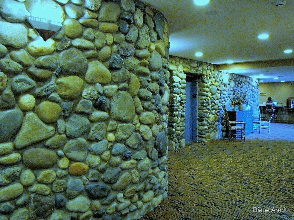 Seattle, Washington....Best Western Motel Walls by Diane Arndt