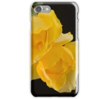 Roses in a vase iPhone Case/Skin
