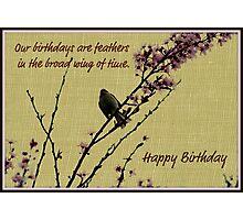 Birthday card Photographic Print
