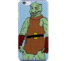 Fabulous, Savage, Never blinking Gorn iPhone Case/Skin