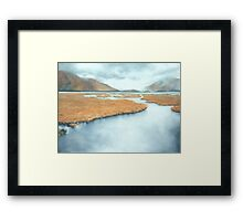 The Lakes Framed Print